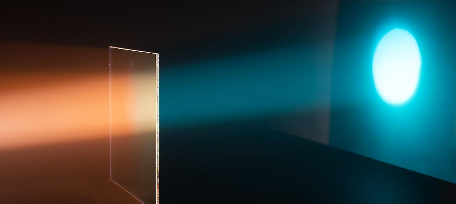 Lighting filter FS Cyan 555 - high colour saturation