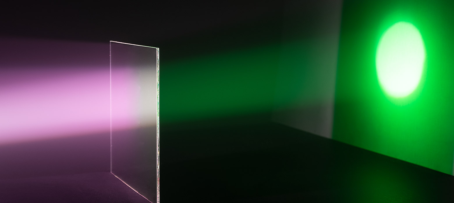 Lighting filter FS Green 505550 - high colour saturation