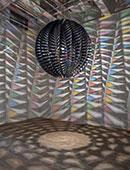 """""""In real life"""" Ólafur Elíasson Installation dichroitisches Glas"""