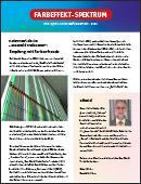 Infoletter Prinz Optics Dichroitisches Glas Architektur